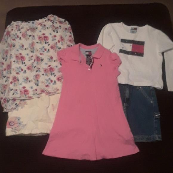 e6928b027 GAP & Tommy Hilfiger Other | Set Of Girls Tommy Hilfiger Gap Clothes ...